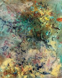 abstract painting Karen Jamali