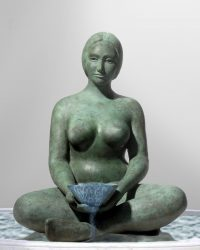 Life of Water (Bronze) - 32 x 24 x 24 in / 81.3 x 61 x 61 cm