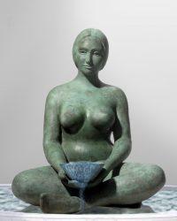 Life of Water (Bronze) - 32 x 24 x 24 in / 81.3 x 61 x 61 cm