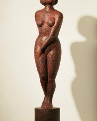 Red Lady - 23.6 x 7.8 x 7.8 in / 60 x 20 x 20 cm
