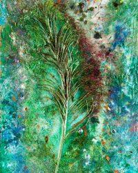 Leaf-KS 579 - 96 x 48 in / 244 x 122 cm