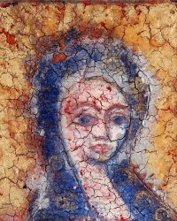 fresco tempera painting