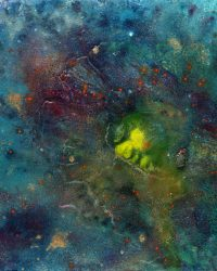 Event Horizon - KS 477 - 48 x 48 in / 122 x 122 cm
