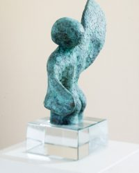 Small Angel - 5.5 x 3.2 x 2.4 in / 14 x 8 x 6 cm